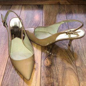 Michael Kors slingback heels